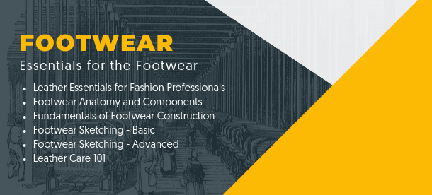 Essentials Footwear Course Sketching Constuction