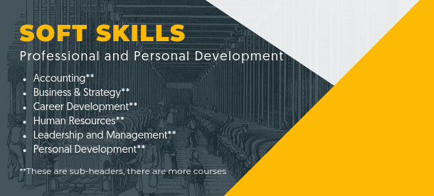 accounting, business strategy, career development, human resources, leadership and management, personal development